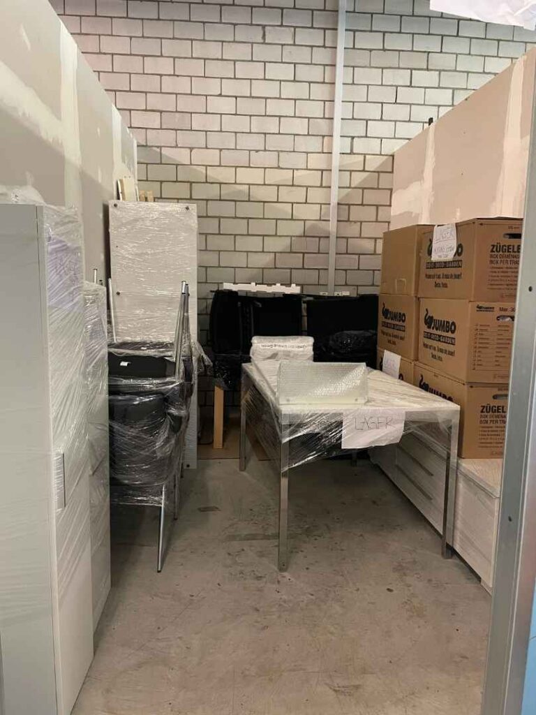 Möbelbox mieten Luzern